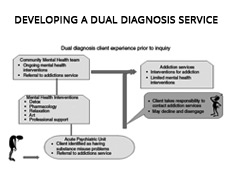 Developing A Dual Diagnosis Service
